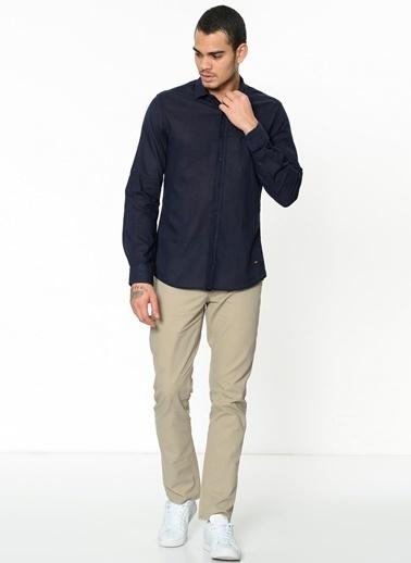 Lee Cooper Uzun Kollu Gömlek Lacivert